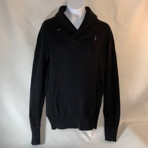 "Polo Ralph Lauren Sweater Women""s Small/P Black"